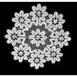 Koronka klockowa kwiatki