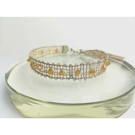 Bransoletka złota minimalistyczna