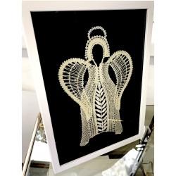 Aniołek tuba barok ercu