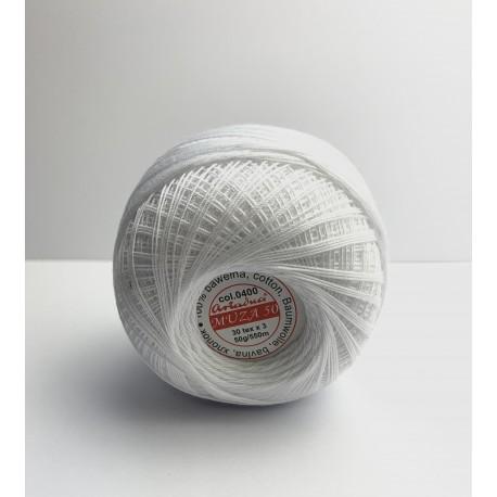 Nici białe bawełna 2